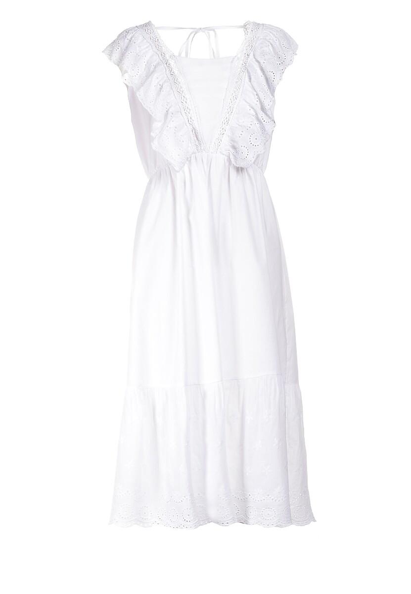 Biała Sukienka Serenella
