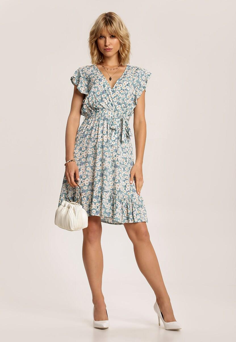 Jasnoniebieska Sukienka Themiphine
