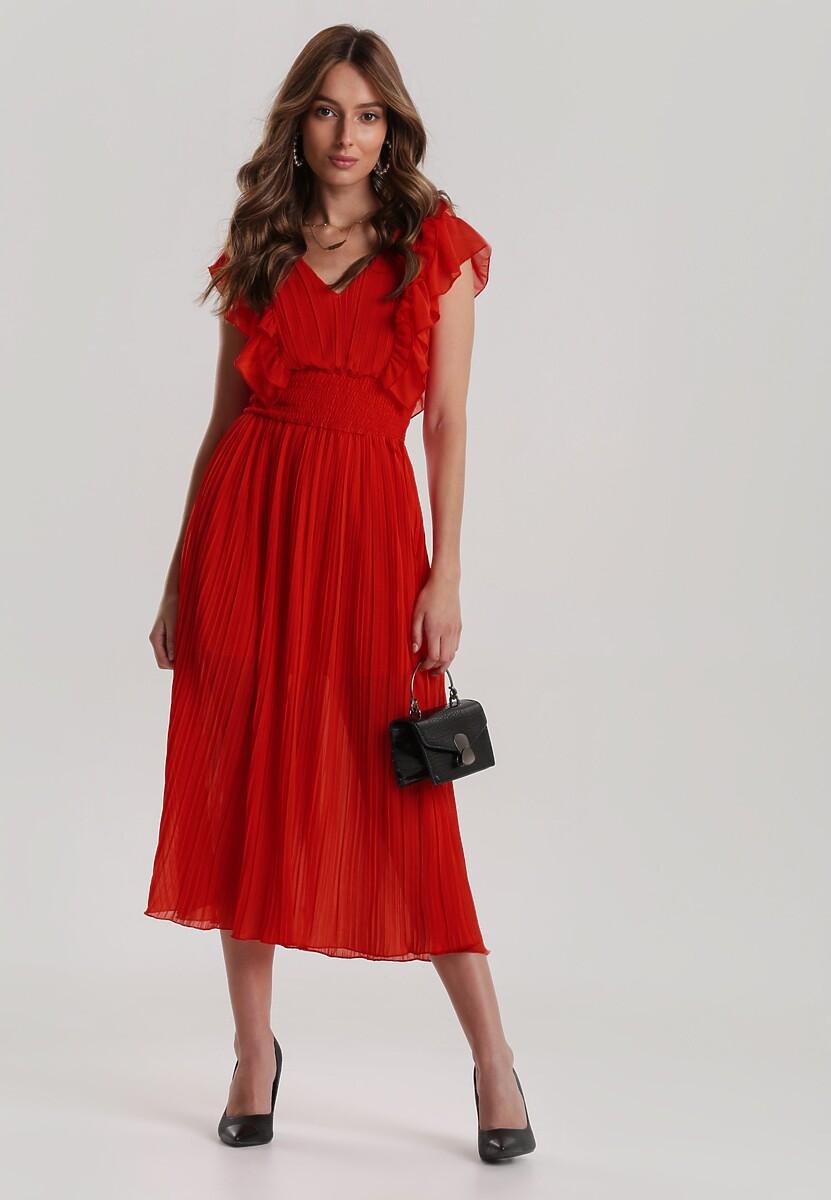 Czerwona Sukienka Kahlileia