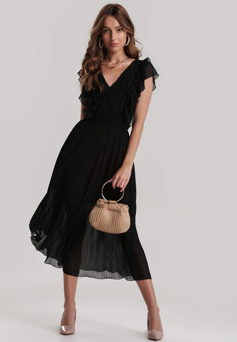 Czarna Sukienka Kahlileia