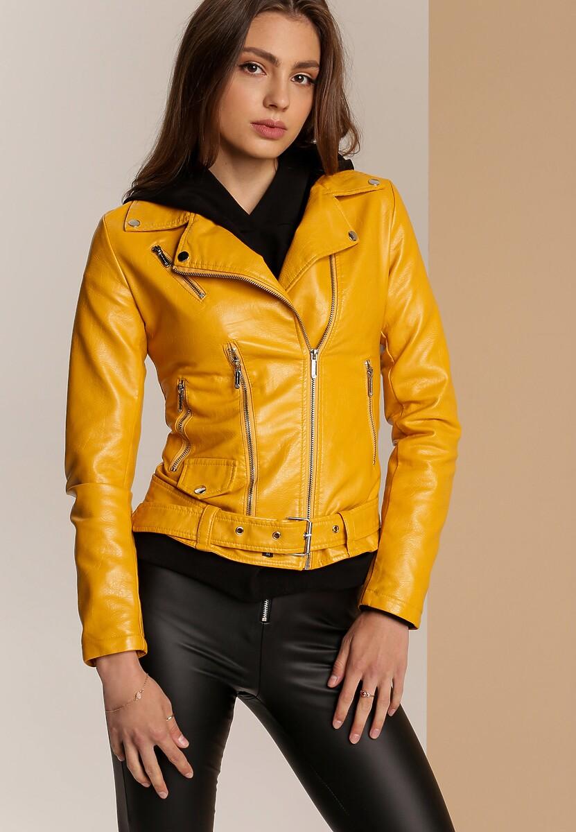 Żółta Ramoneska Meznell