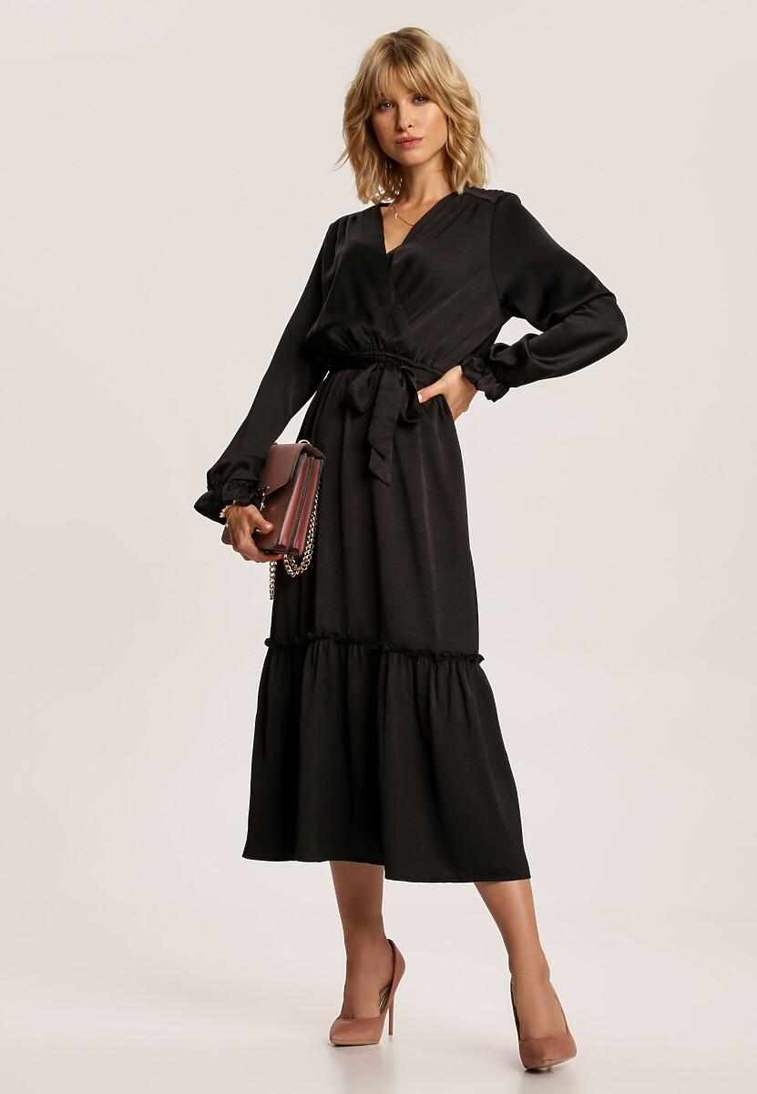 Czarna Sukienka Pallegina
