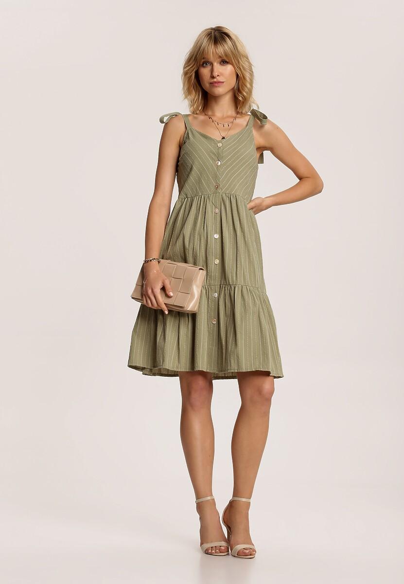 Zielona Sukienka Corirea