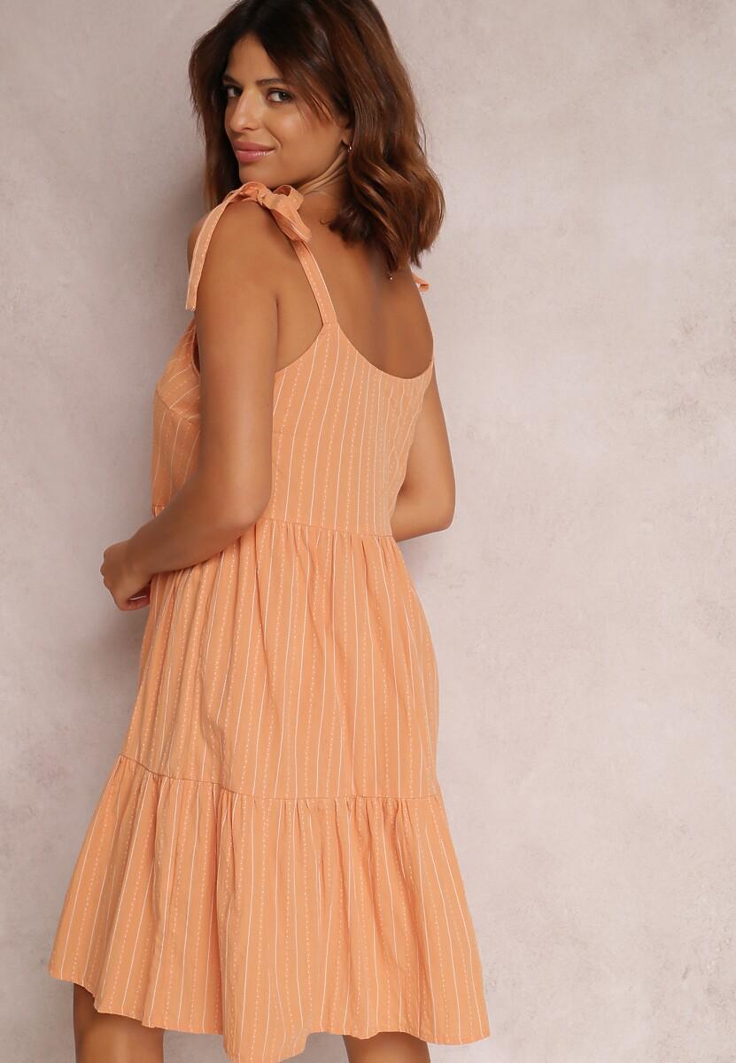 Pomarańczowa Sukienka Corirea
