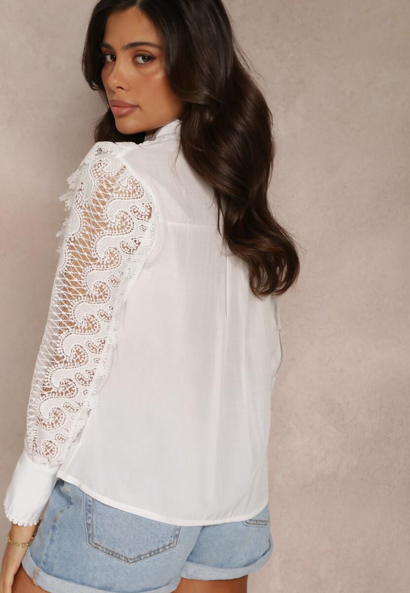 Biała Bluzka Meridtila