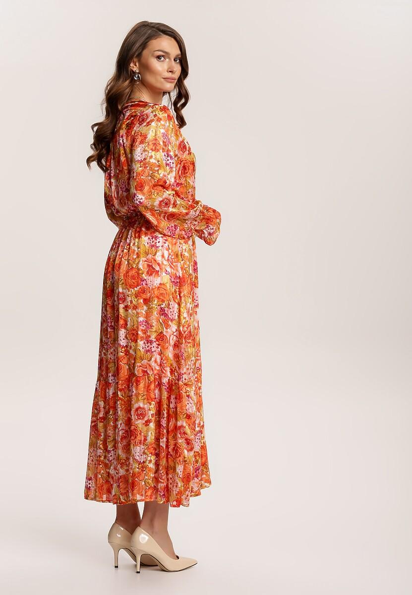 Pomarańczowa Sukienka Ryrevera