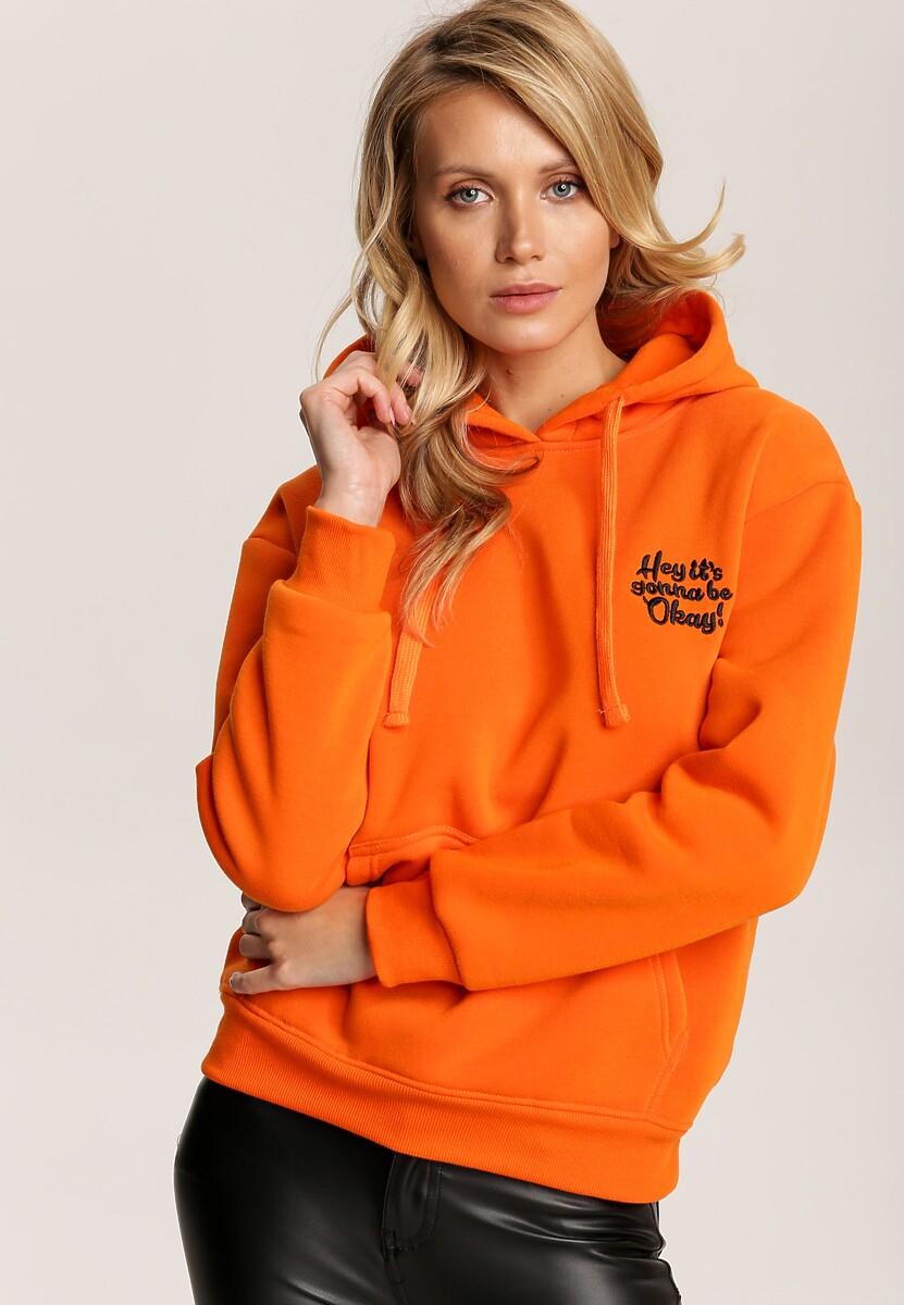 Pomarańczowa Bluza Nautilei