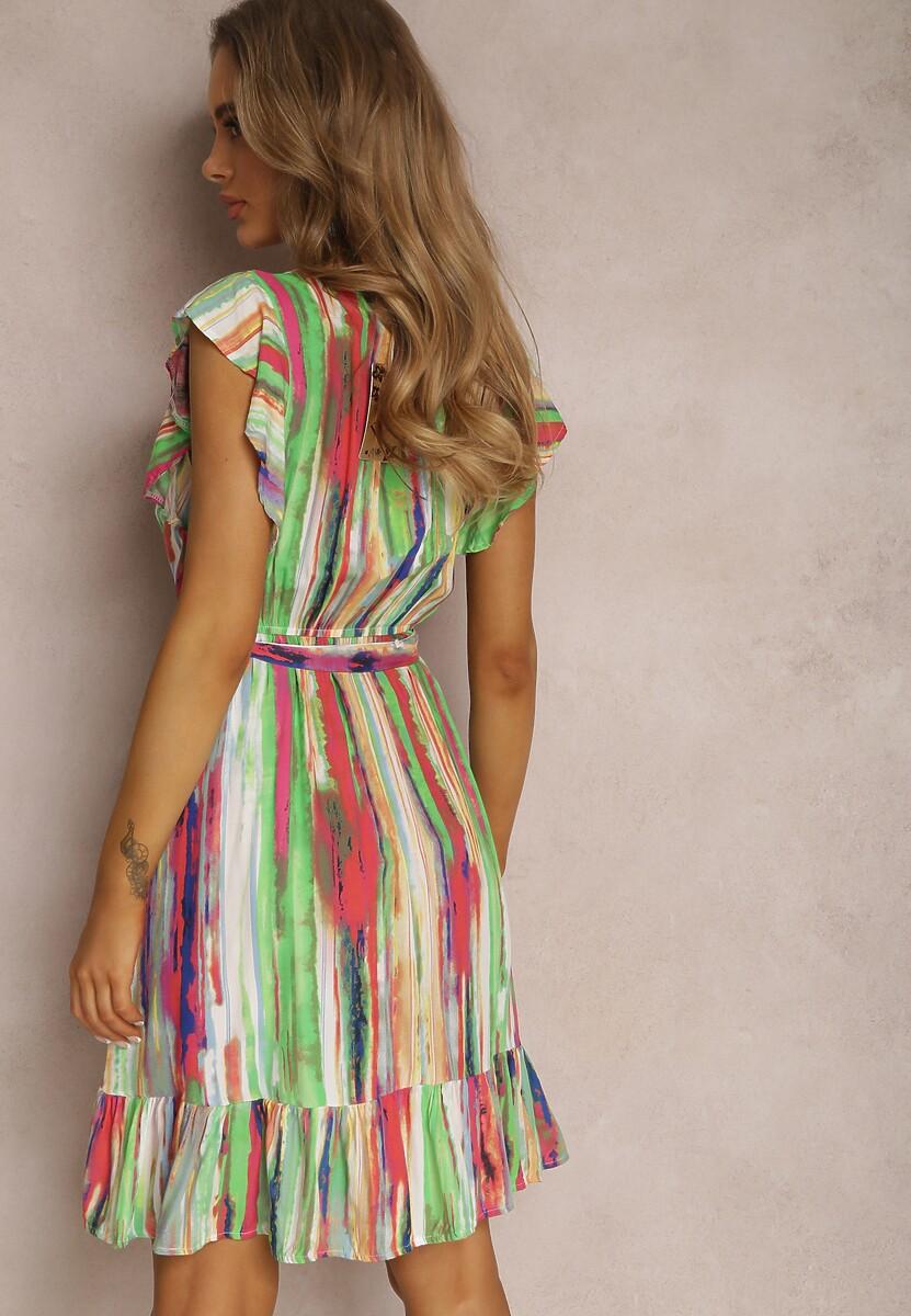 Jasnozielona Sukienka Zaehryss