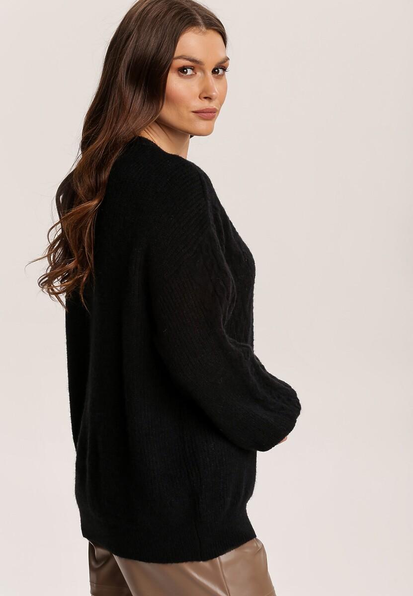 Czarny Sweter Ohiryss