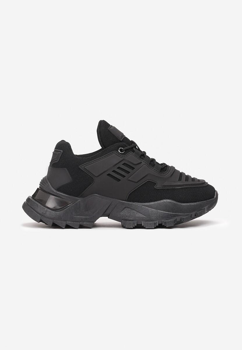 Czarne Sneakersy Tinlyss