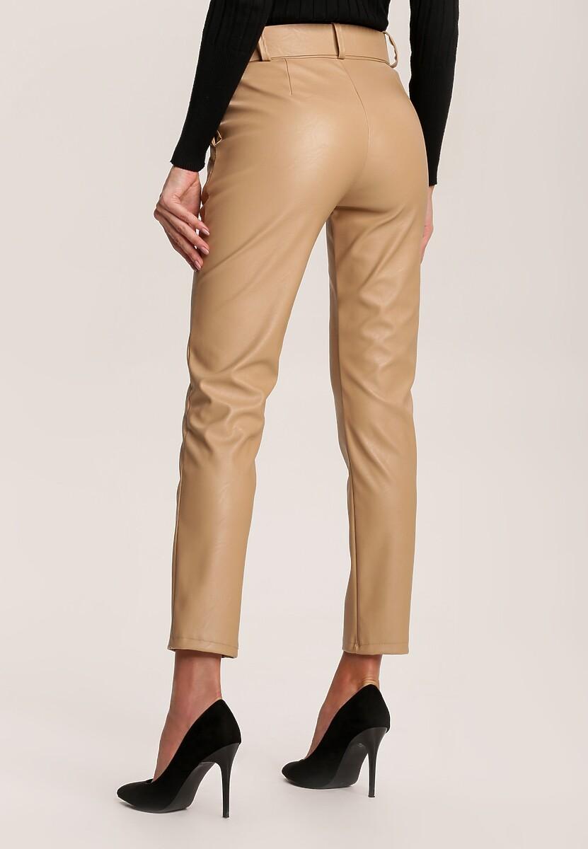 Jasnobeżowe Spodnie Vilinlisa