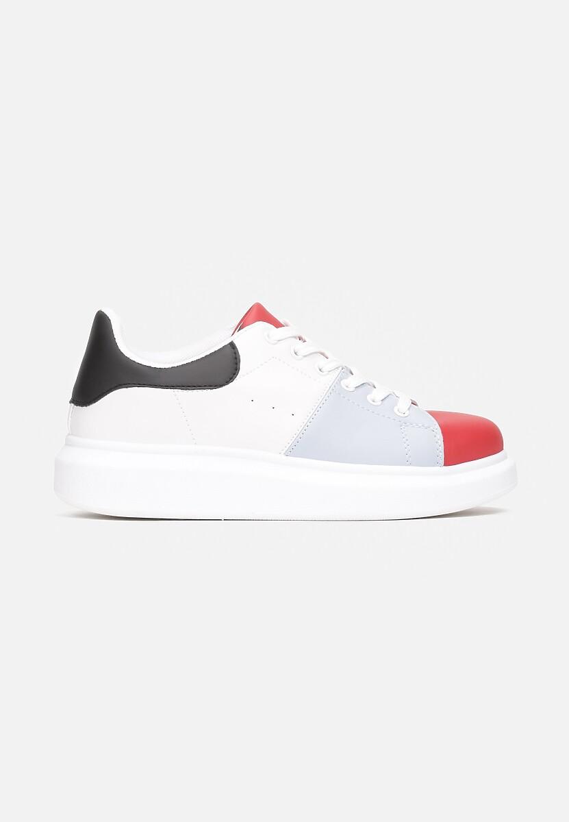 Biało-Czerwone Sneakersy Penrahne