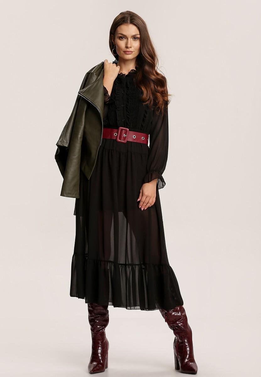 Czarna Sukienka Vyltila