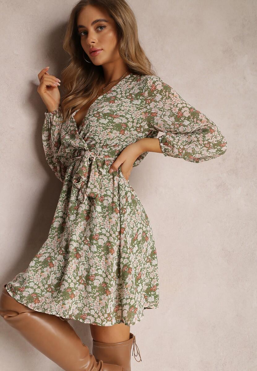 Zielona Sukienka Eshirlia