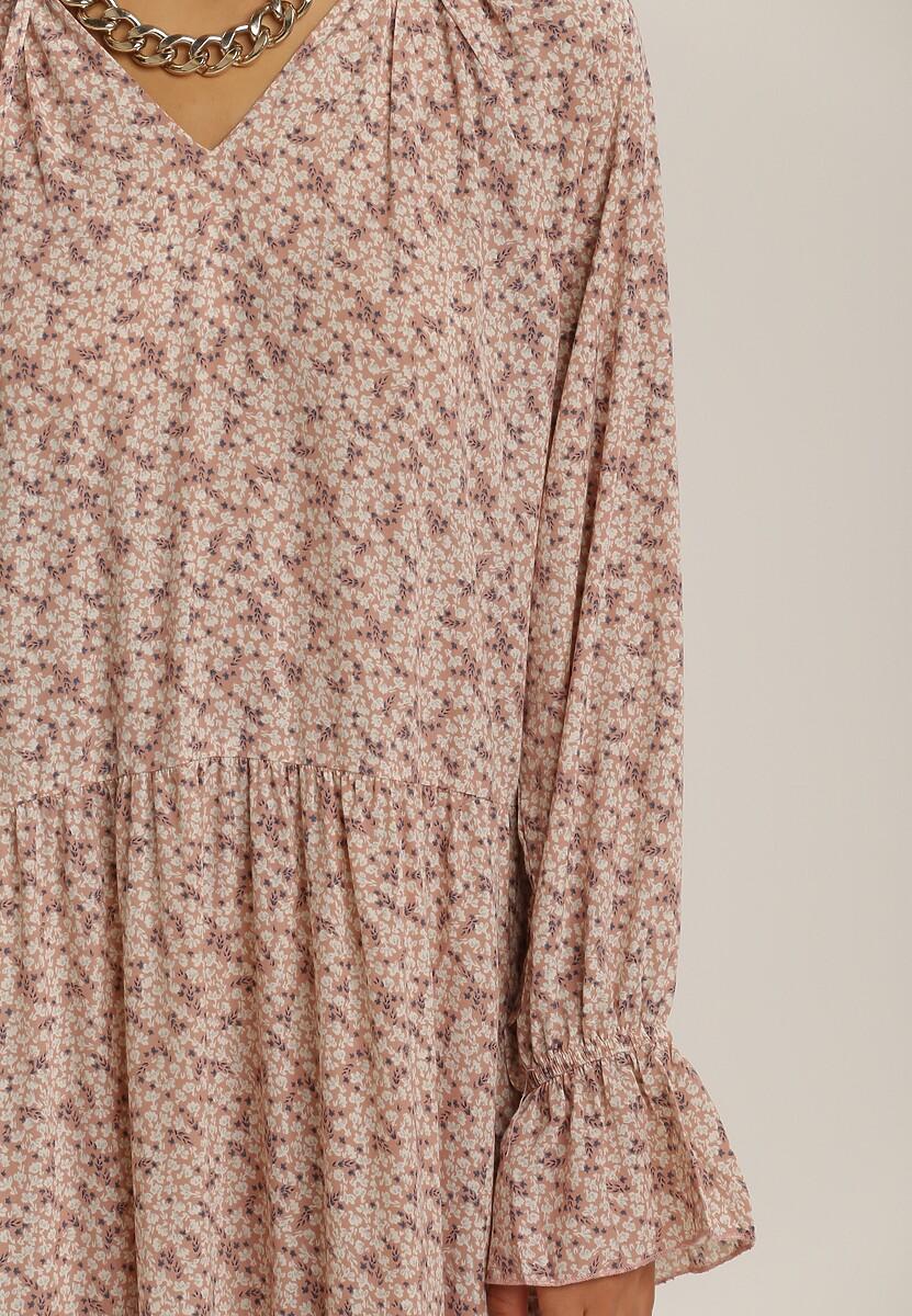 Ciemnoróżowa Sukienka Berinlia