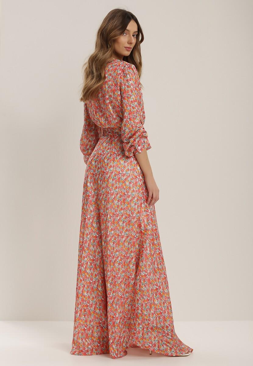 Łososiowa Sukienka Ginorvia