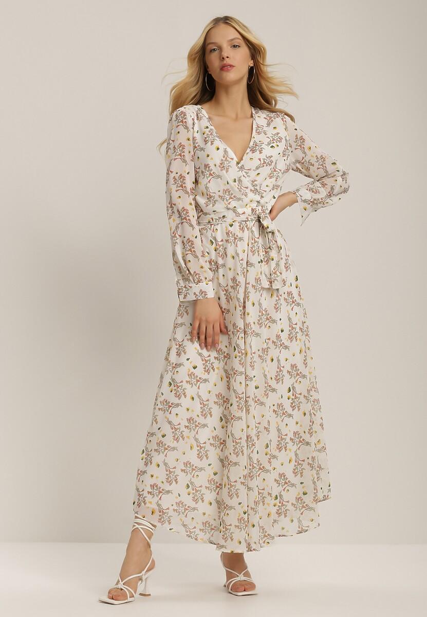 Biała Sukienka Jaenera