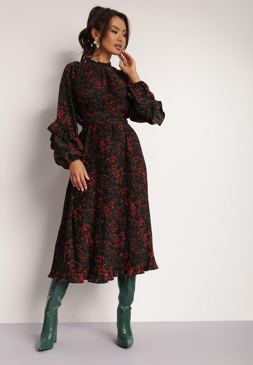 Czarna Sukienka Zarintarish