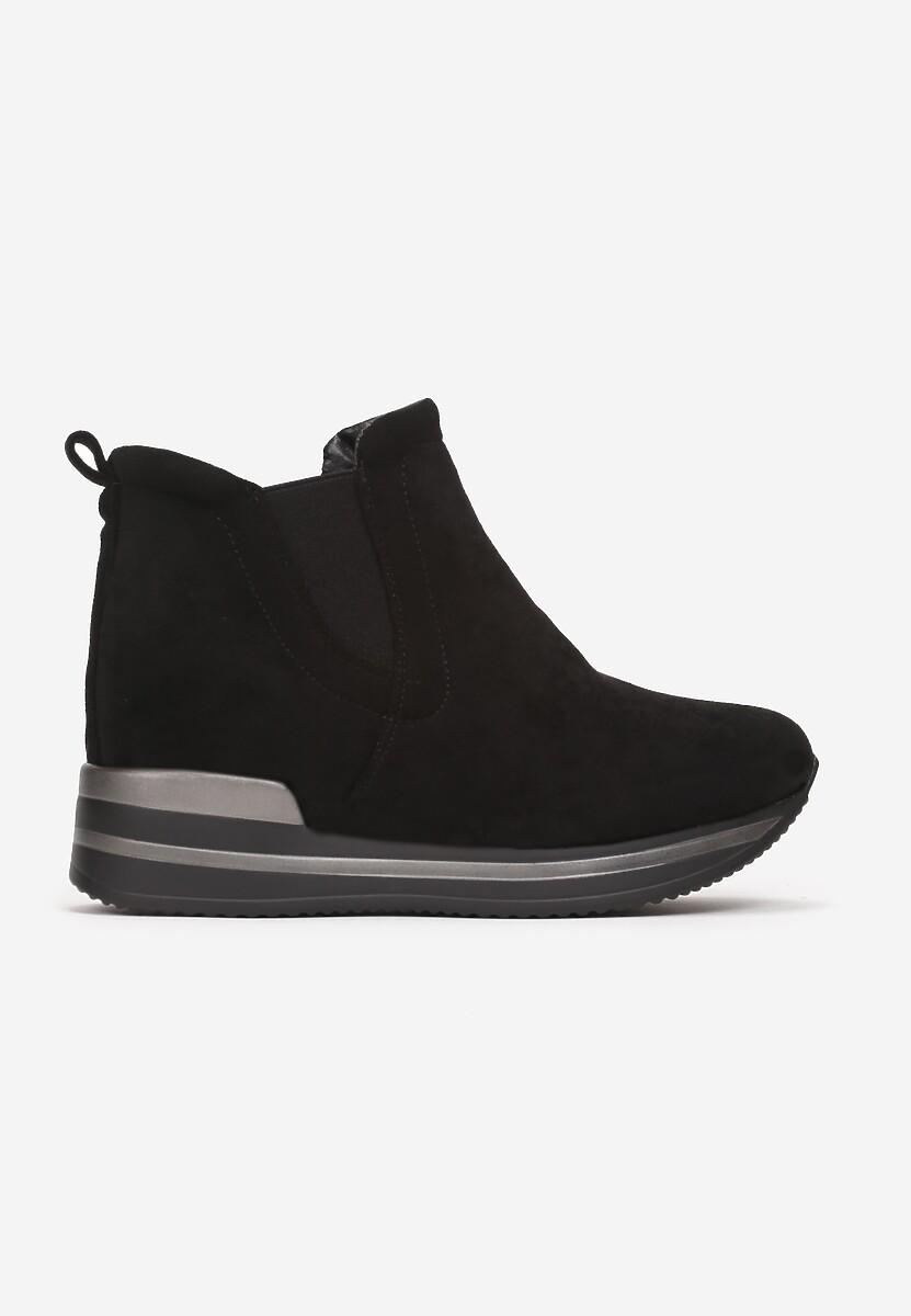 Czarne Sneakersy Prise