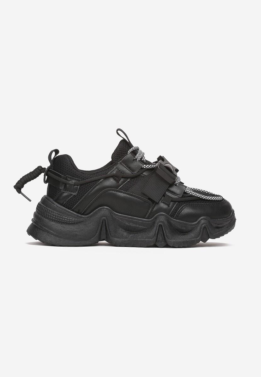 Czarne Sneakersy Daisia