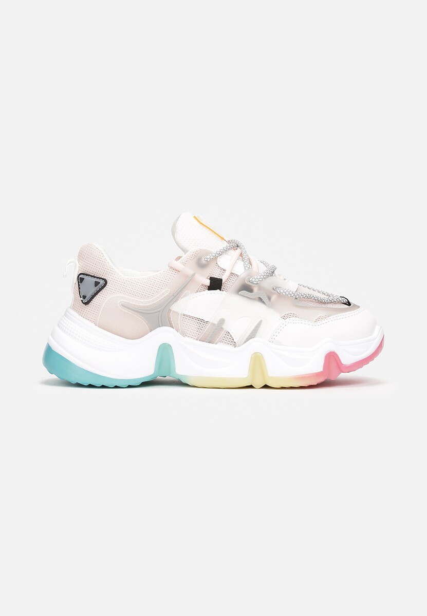 Różowe Sneakersy Larunda