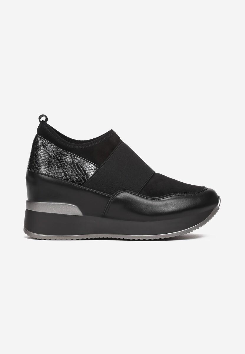 Czarne Sneakersy Eucrante