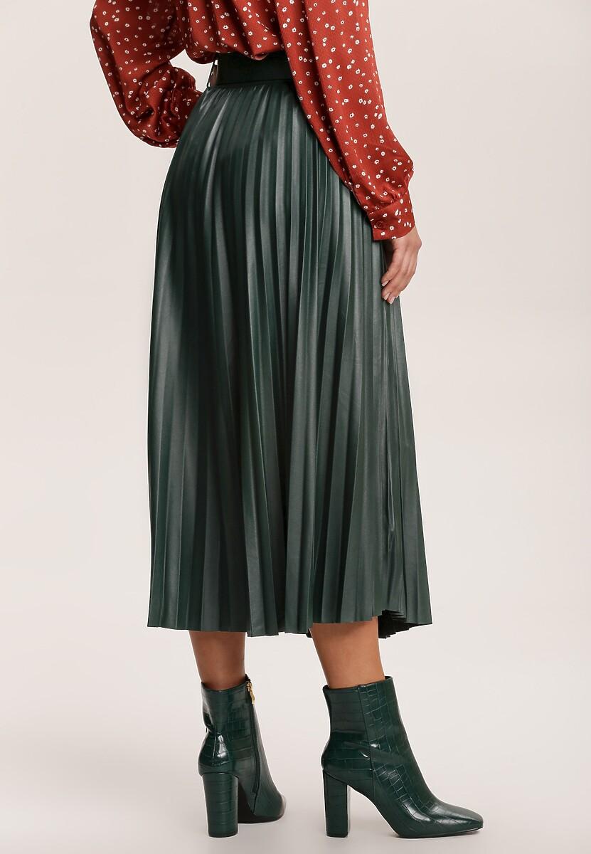 Ciemnozielona Spódnica Amphiro