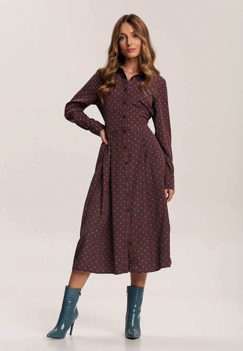 Brązowa Sukienka Adedanna