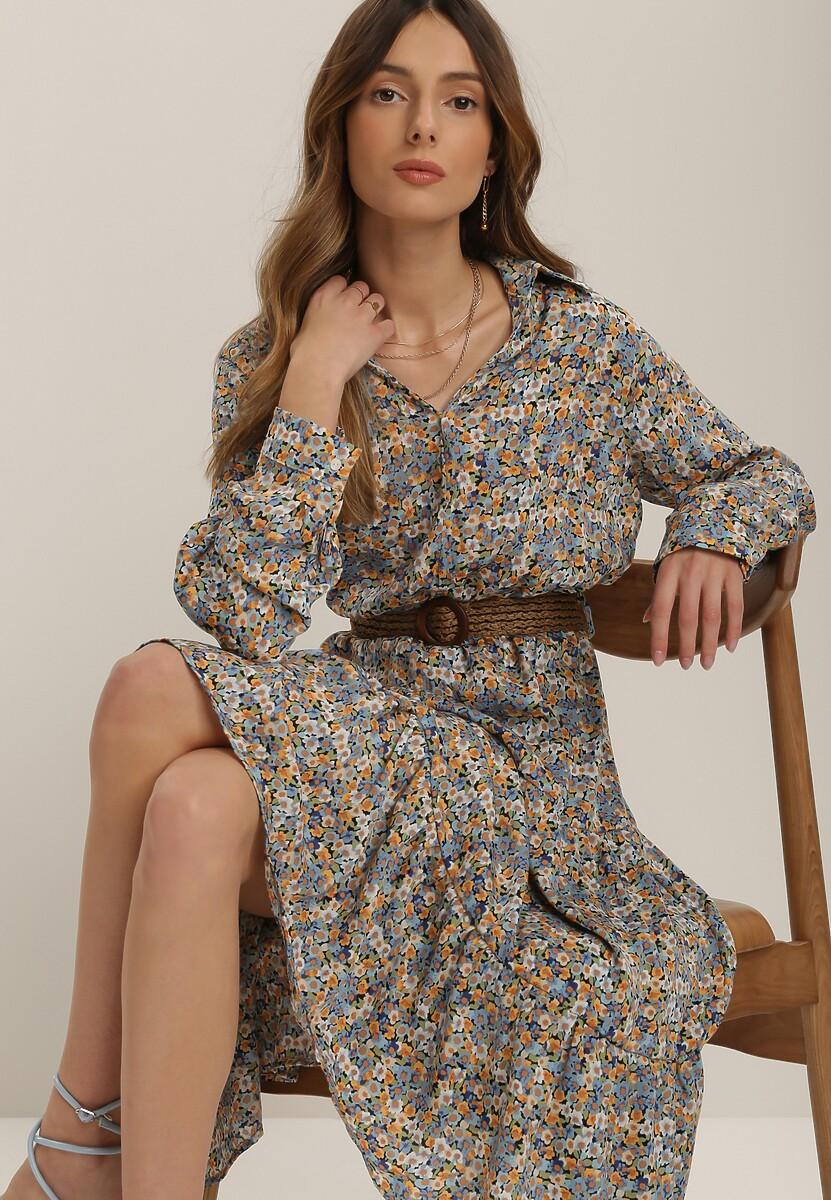 Jasnoniebieska Sukienka Aeleora