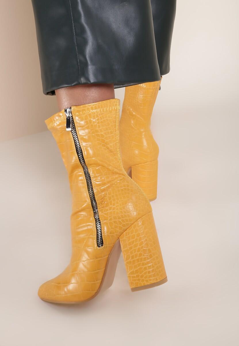 Żółte Botki Isiroth