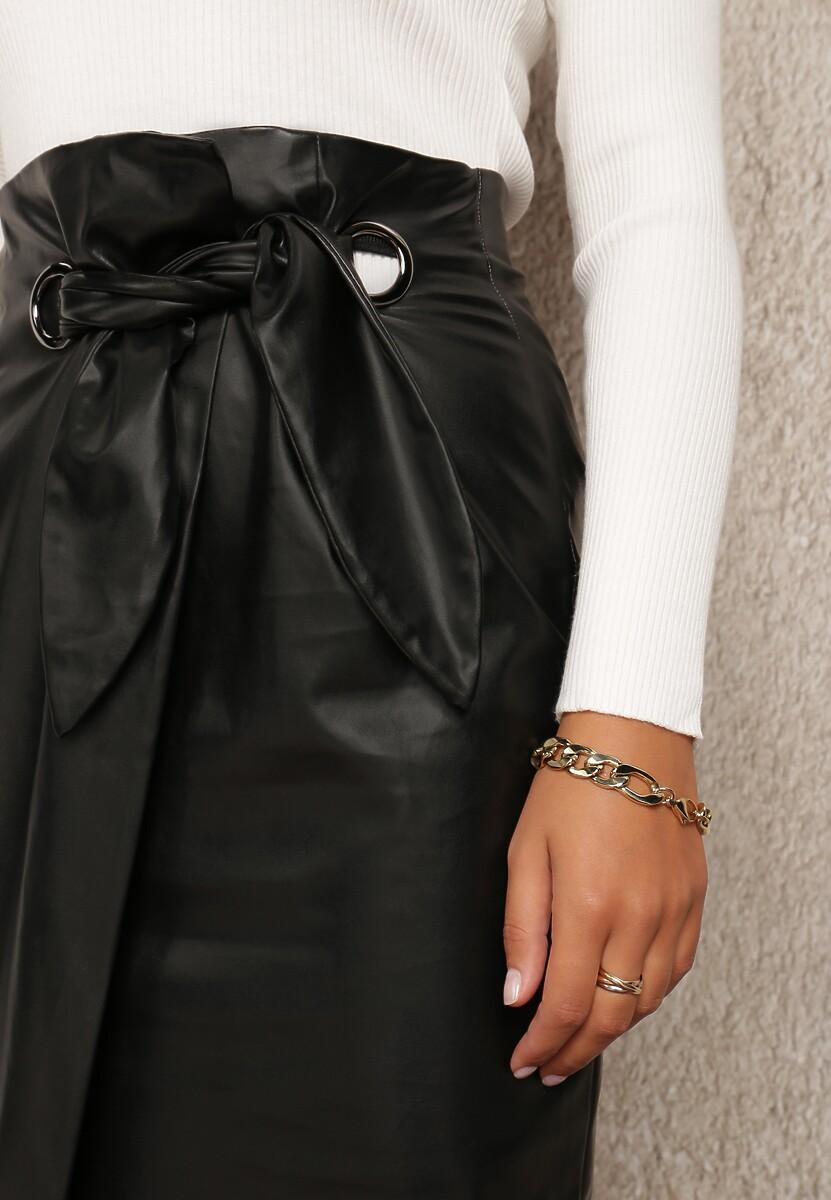 Czarna Spódnica Miasatra