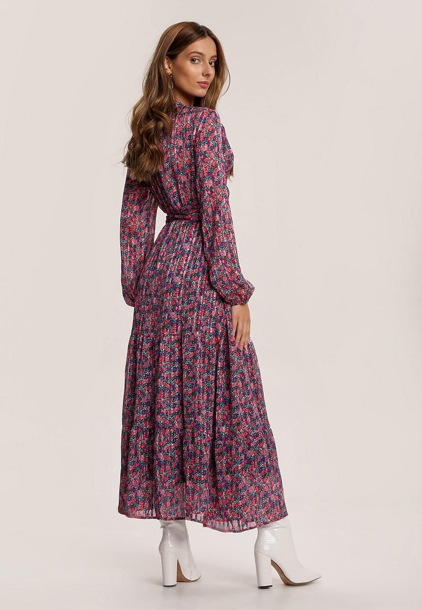 Fuksjowa Sukienka Xenvienne