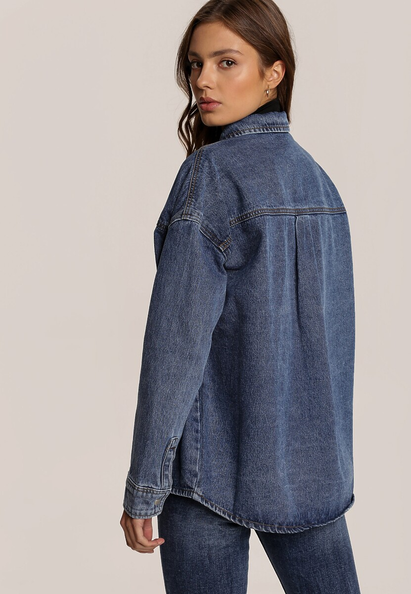 Niebieska Koszula Saelyra