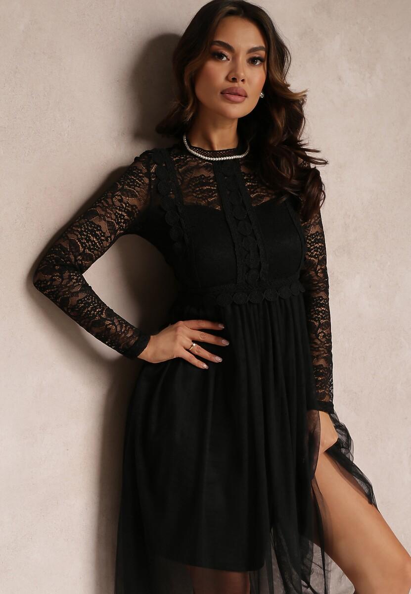 Czarna Sukienka Aeznessa