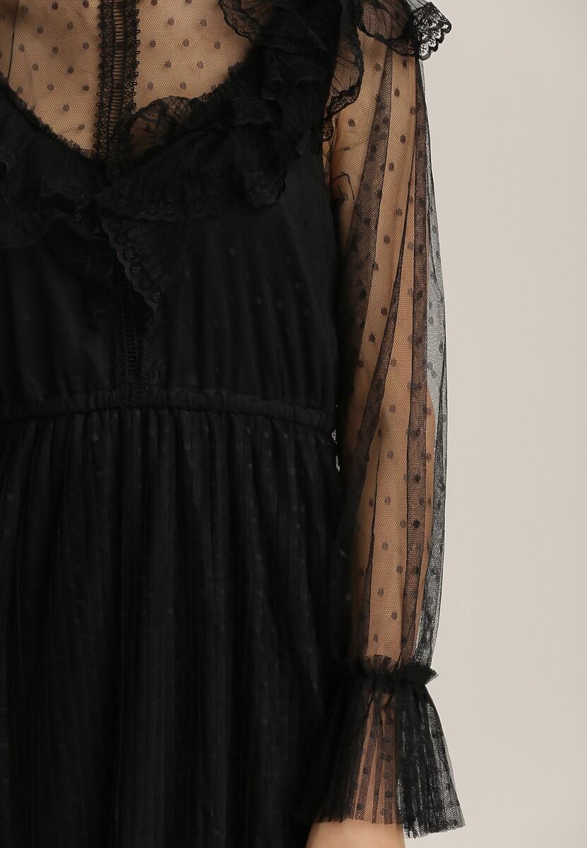 Czarna Sukienka Zelliesh