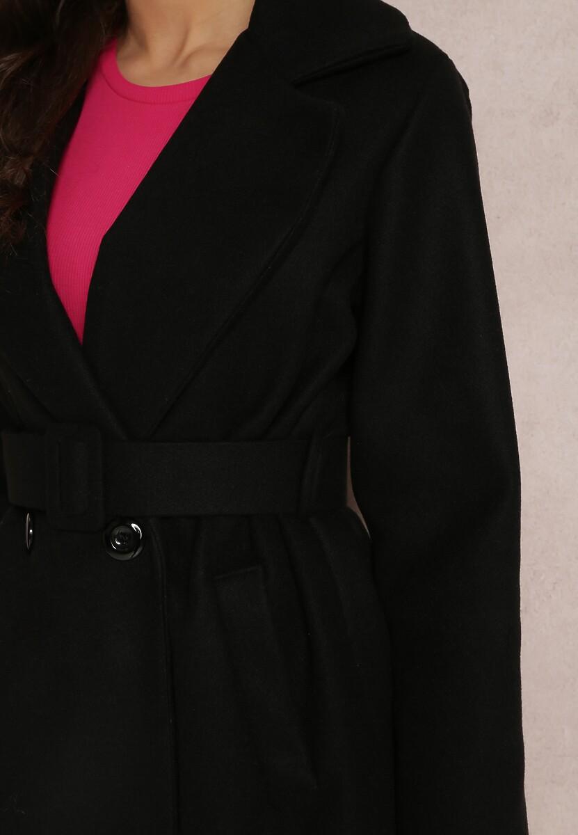 Czarny Płaszcz Zaehsha