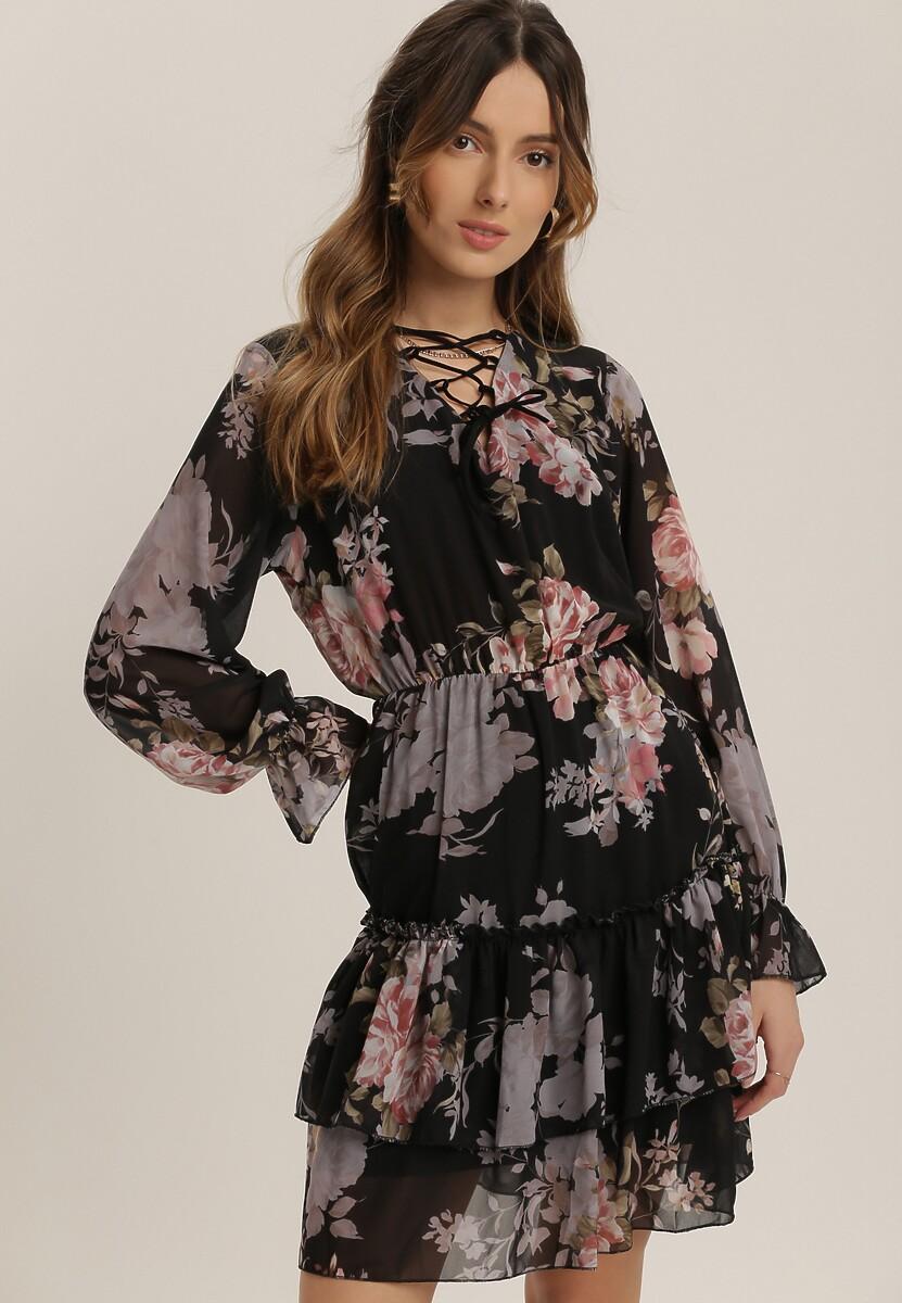 Czarna Sukienka Jynsea