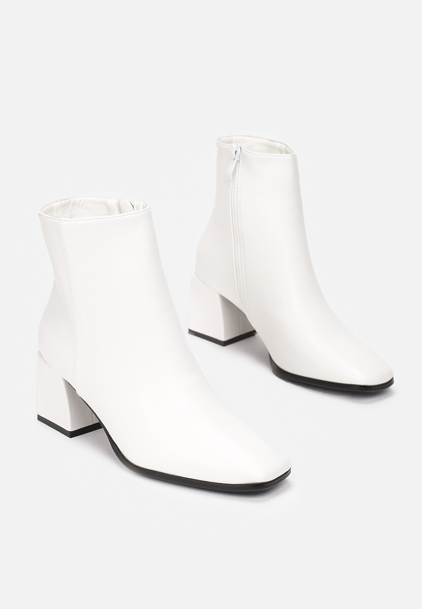 Białe Botki Lilinyla