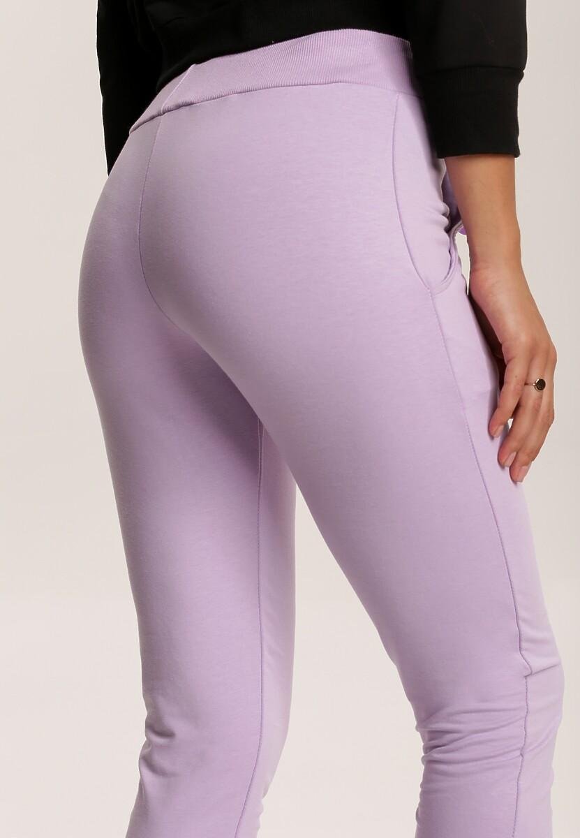 Lawendowe Spodnie Ginorless