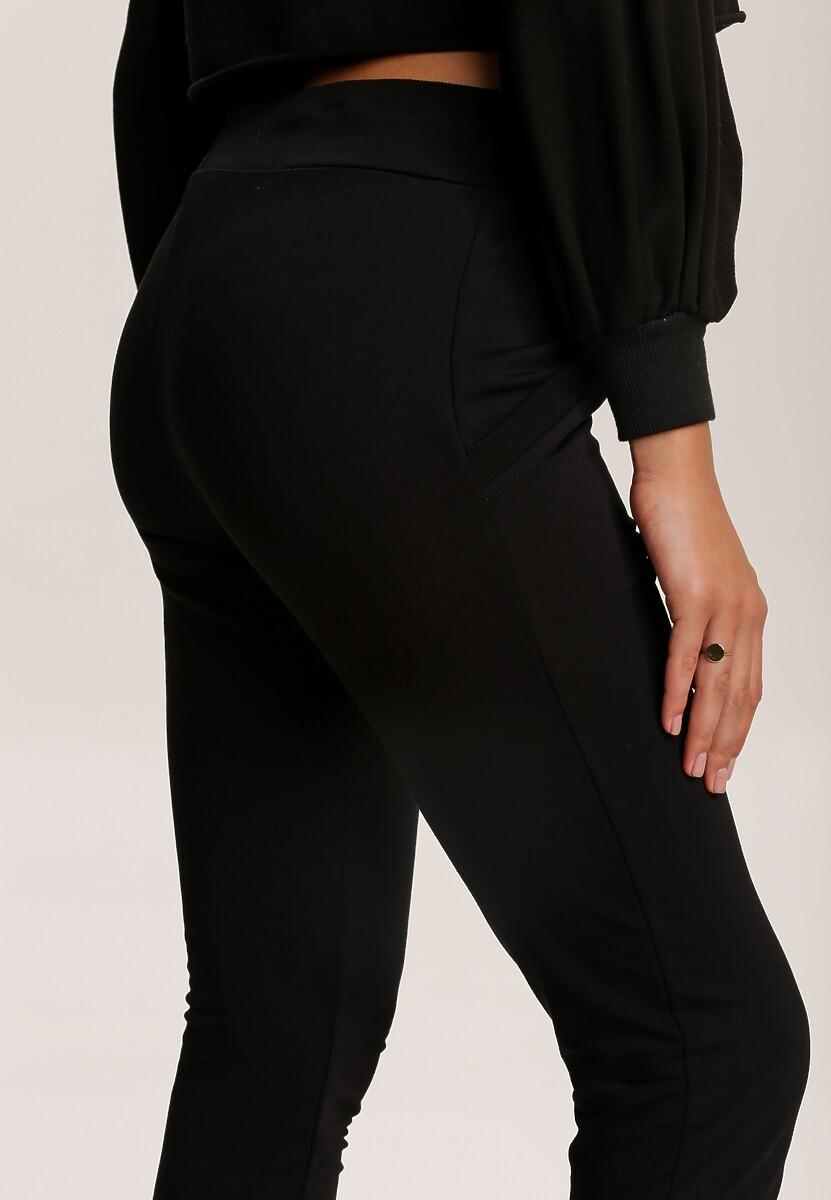Czarne Spodnie Jynona