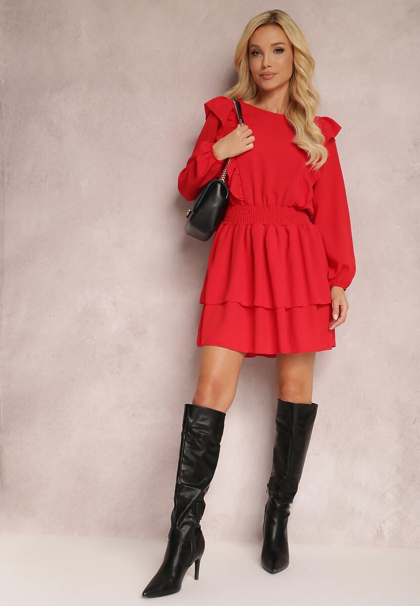 Czerwona Sukienka Wylinnell