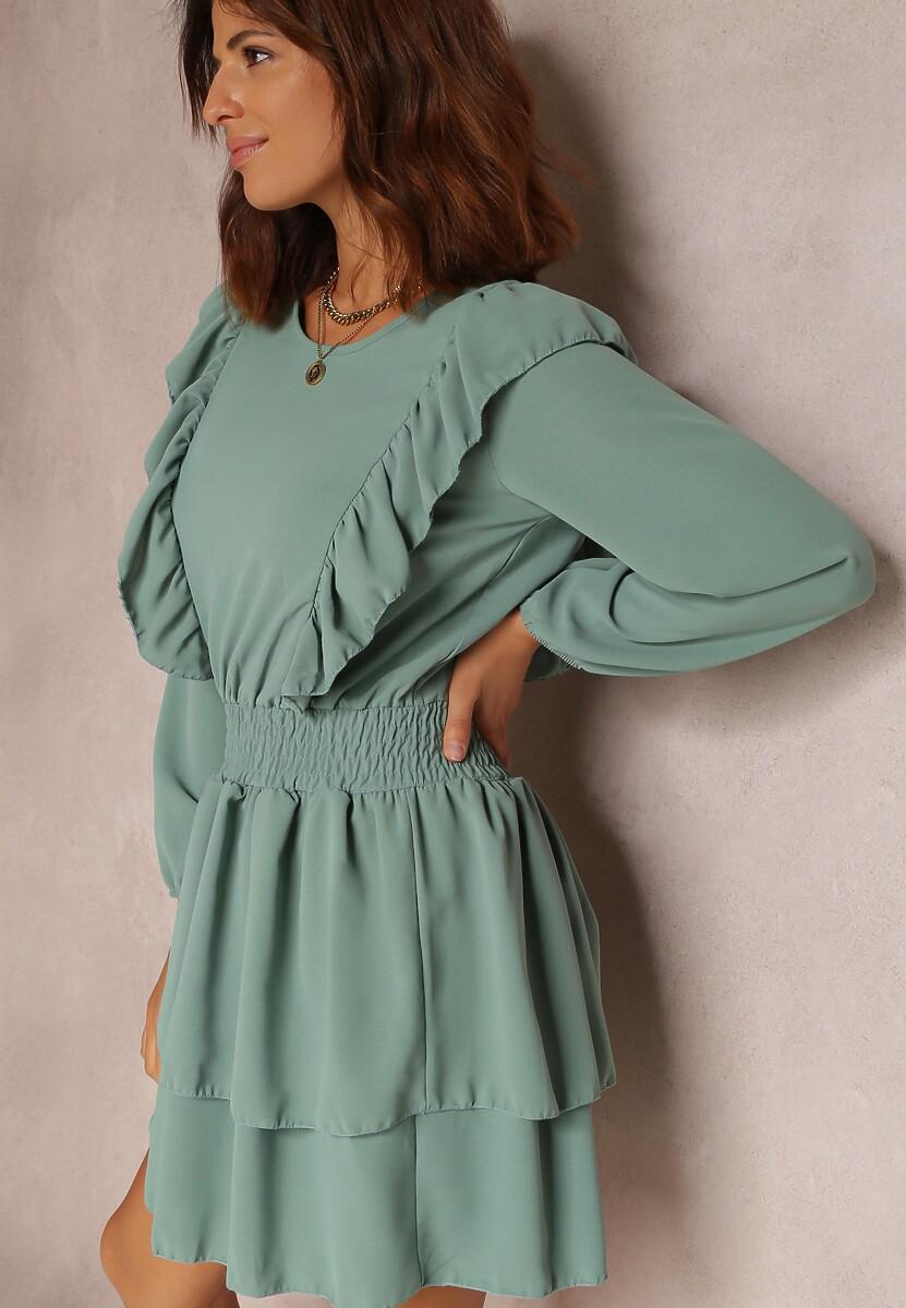 Miętowa Sukienka Wylinnell