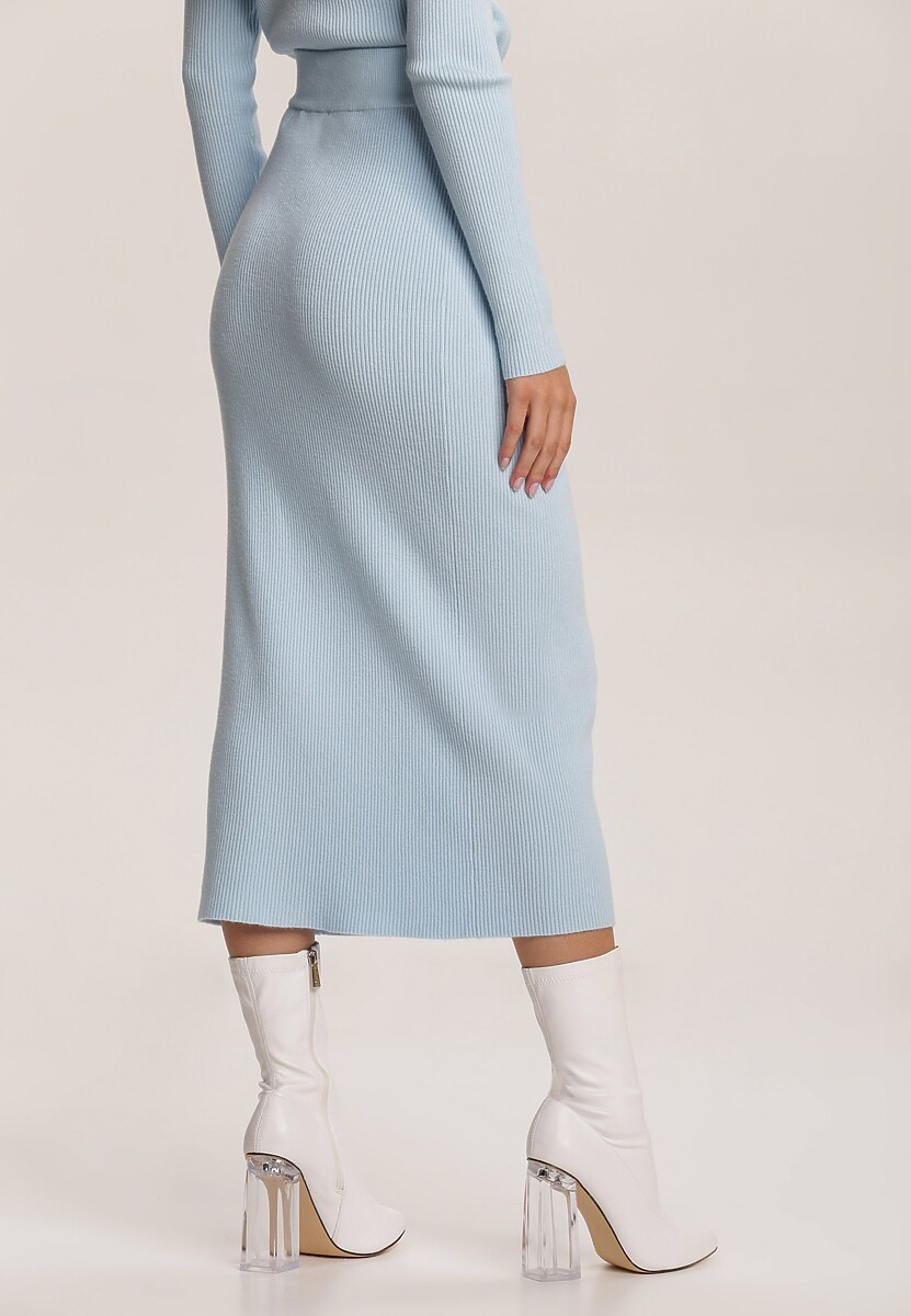 Niebieska Spódnica Harelsyss