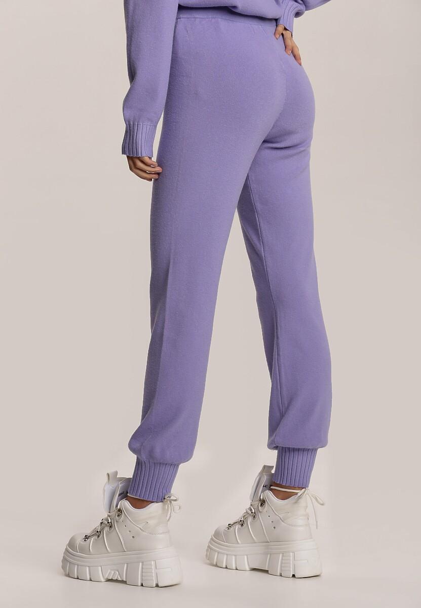 Lawendowe Spodnie Fyserryss