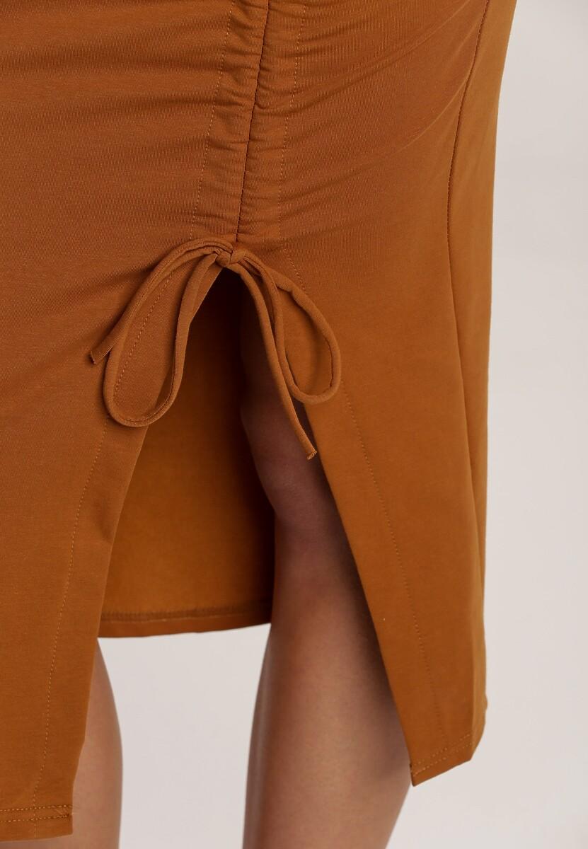 Camelowa Spódnica Kyllea