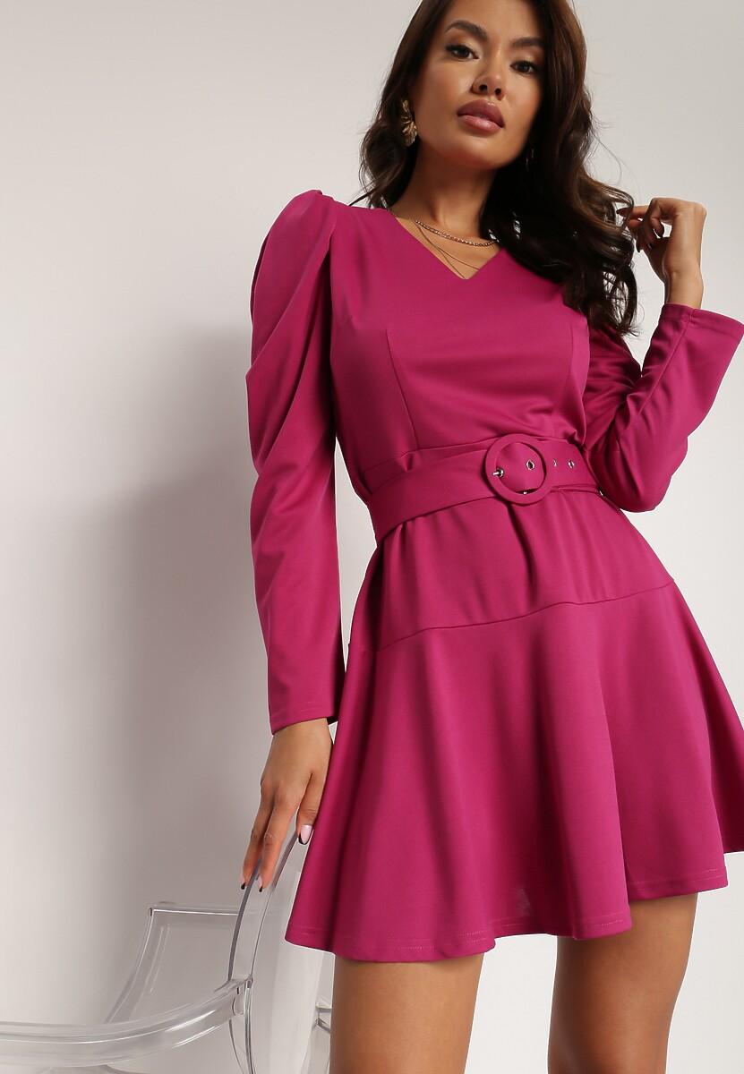 Fioletowa Sukienka Lilineli