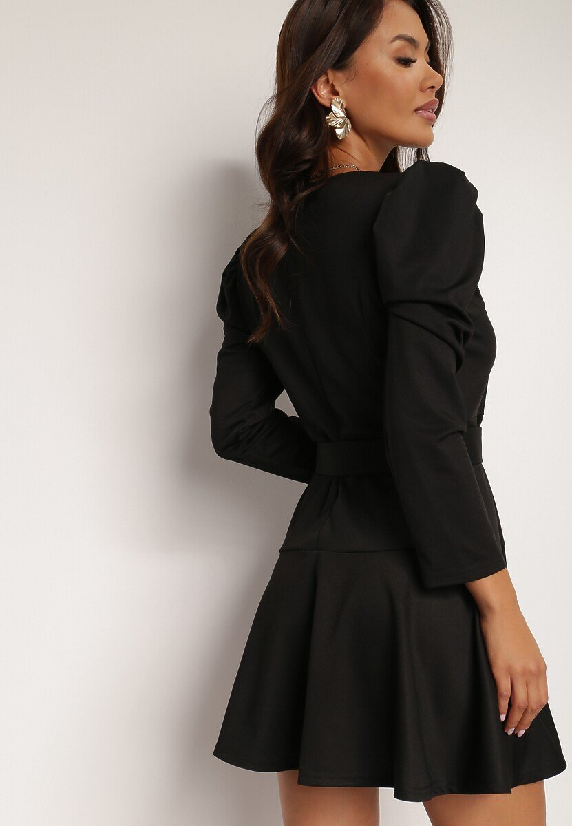 Czarna Sukienka Lilineli