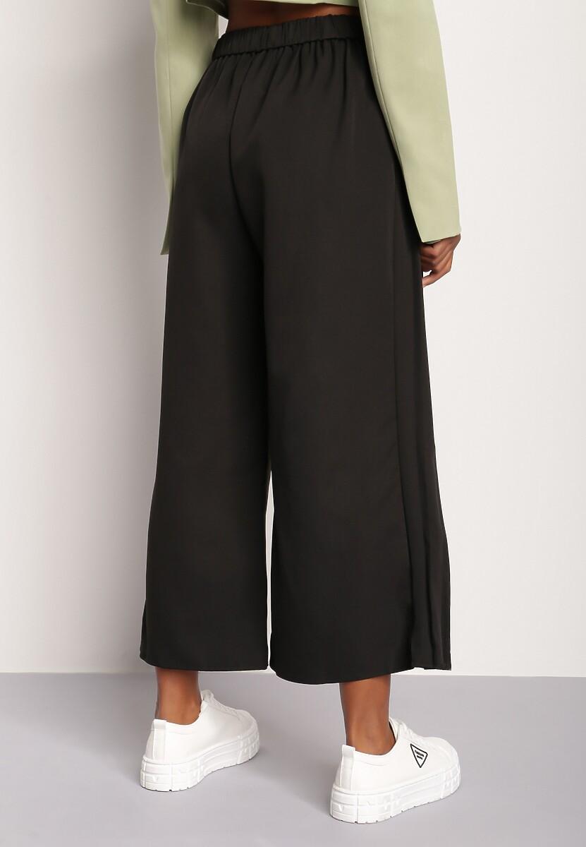 Czarne Spodnie Culottes Sarnixi