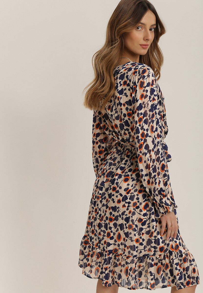 Beżowa Sukienka Prisesh