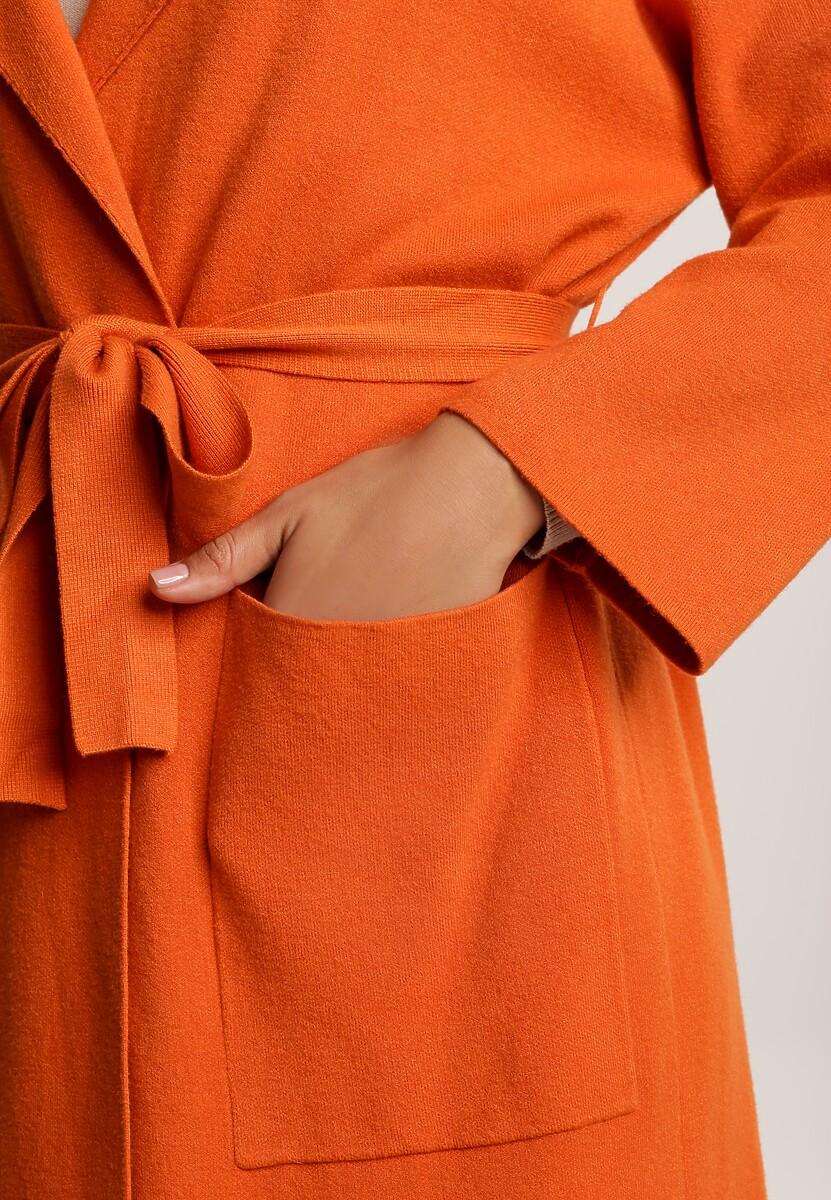 Pomarańczowy Kardigan Felsea